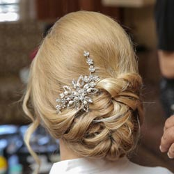Bridal Updo for Las Vegas Wedding