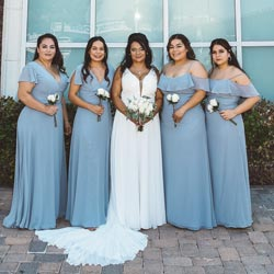 bridesmaids dress rental