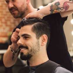 Gentleman's Wash, Cut & Style for Las Vegas Wedding