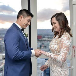 high roller wedding video