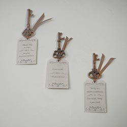 Key to Marriage Wedding Favor