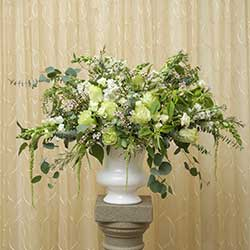 Lovely Victorian Altar Spray Floral Arrangement