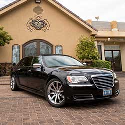 Luxury wedding transportation
